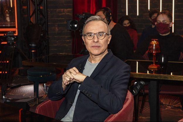 Philippe Besson, ici le 9 janvier pour le tournage d'une émission.
