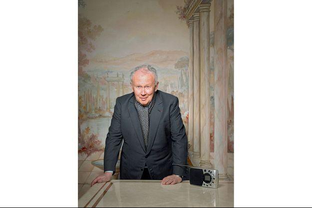 Philippe Bouvard, mauvais esprit, fidèle au poste.