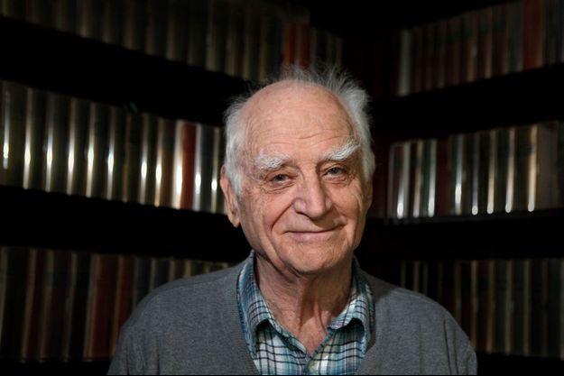 Michel Serres en mars 1990.