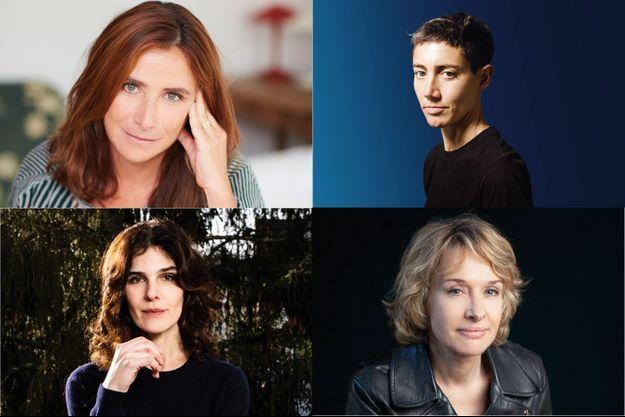 Virginie Linhart, Constance Debré, Claire Castillon, Fabienne Périneau