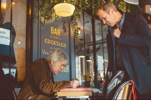 Renaud et Zep à Paris Montparnasse le 22 novembre 2019.