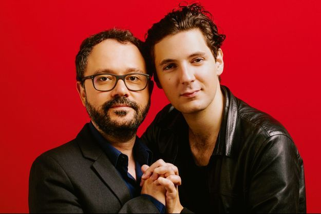Riad Sattouf et Vincent Lacoste