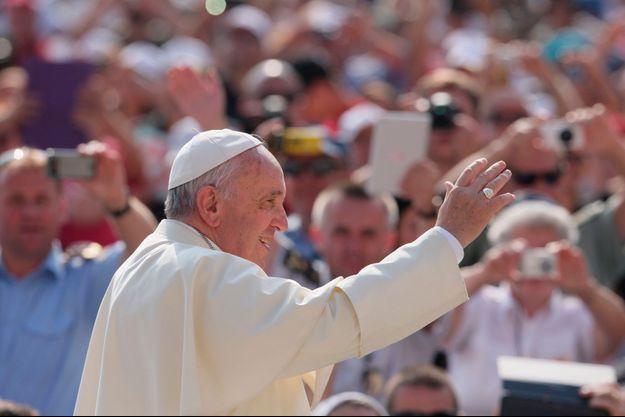 Le pape François à Rome.