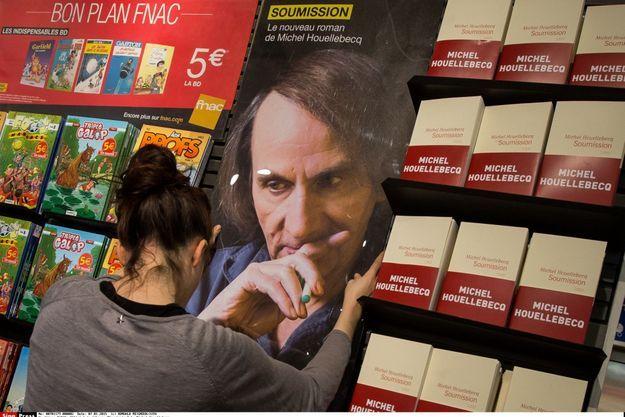 Le sixième roman de Michel Houellebecq a fait l'objet d'un tirage de 150 000 exemplaires.