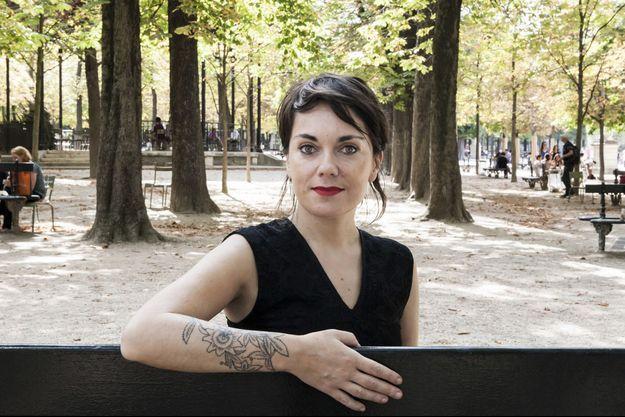 La romancière Véronique Ovaldé.