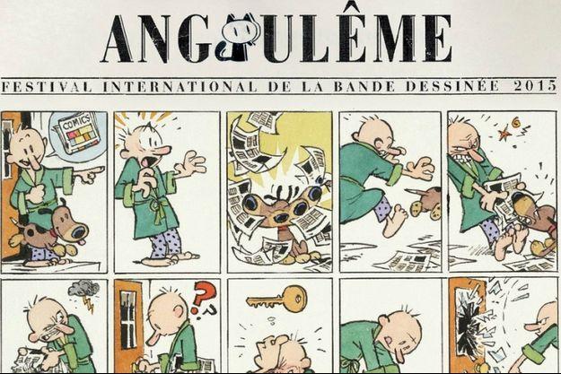 L'affiche du 42e Festival d'Angoulême