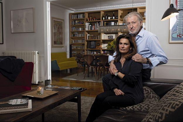 Sylvie Le Bihan et Pierre Gagnaire.