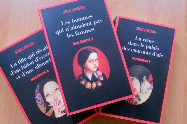 Les trois premiers tomes de Millenium en France