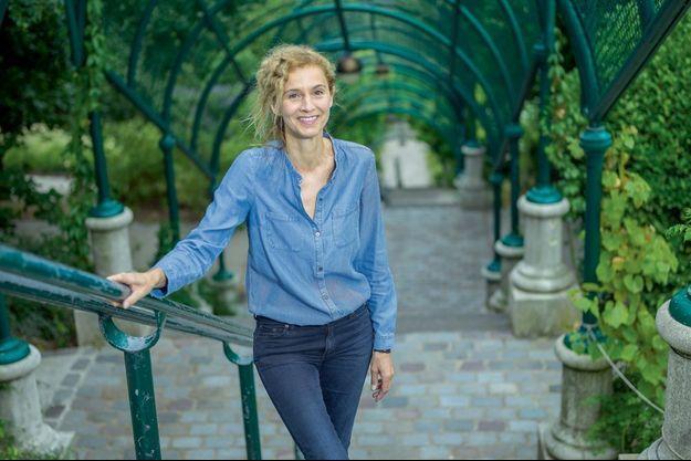 Delphine de Vigan se livre cette semaine dans Paris Match.