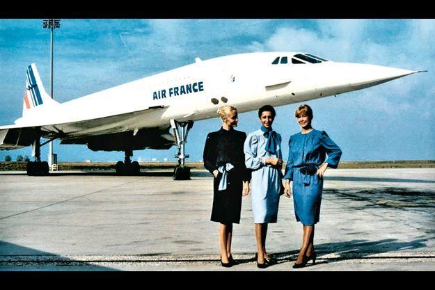 Une photo tirée du livre « Air France dans tous les ciels », éd. Ouest-France, de Denis Parenteau.