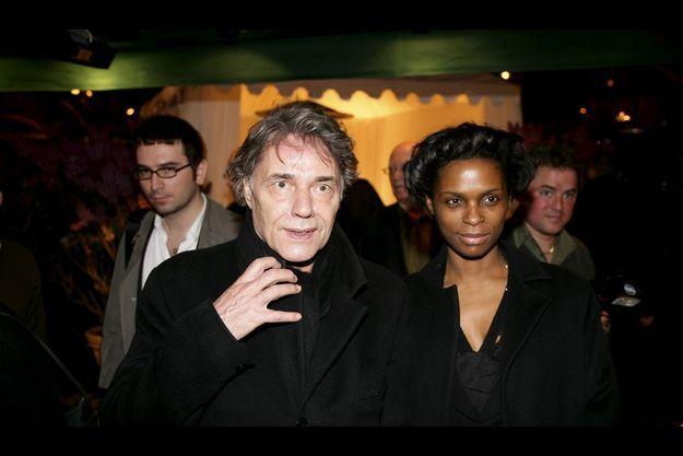 Yves Simon et sa compagne, Patrice-Flora Praxo.