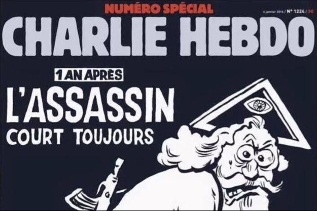 La couverture du numéro spécial de Charlie Hebdo