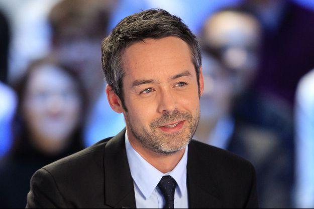 Yann Barthès, ici en mars 2012 sur Canal +.