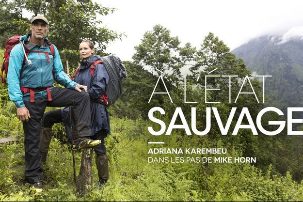 Mike Horn et Adriana Karembeu.