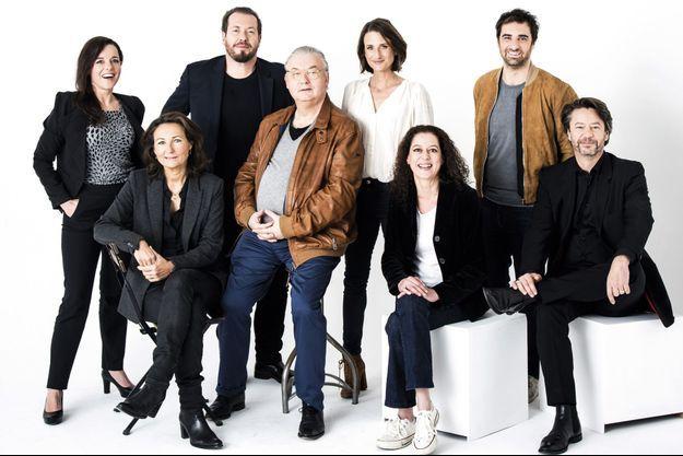 Yacouta Lagouagh, Laure Calamy, Camille Cottin, Elizabeth Tanner, Thibauly de Montalembert, Laurent Gregoire, Gregory Montel, Dominique Besnehard.