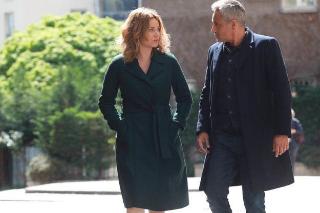 """Marine Delterme et Jean-Michel Tinivell dans """"Alice Nevers, le juge est une femme""""."""
