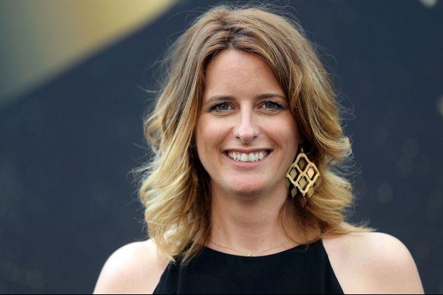Anne Décis au festival de la télévision de Monte-Carlo, le 18 juin 2017.