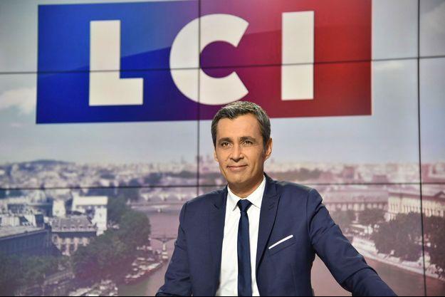 Le journaliste Olivier Galzi sur LCI.