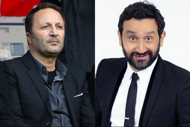 Arthur et Cyril Hanouna.