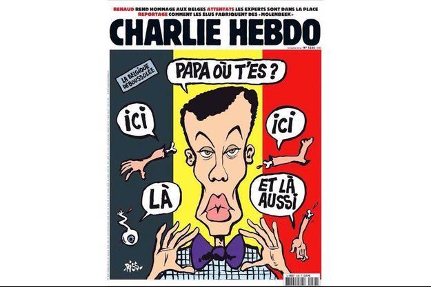 """La nouvelle Une de """"Charlie Hebdo"""" divise les réseaux sociaux."""