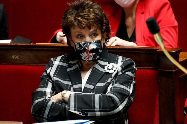 Roselyne Bachelot ici à l'Assemblée nationale mi-janvier.