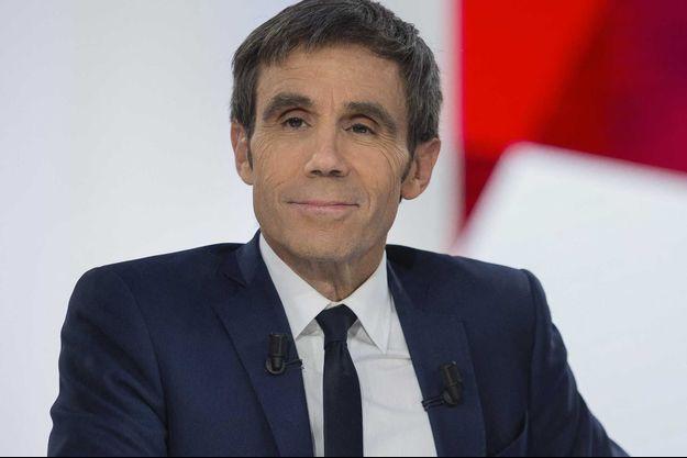 David Pujadas en 2017 sur France 2.