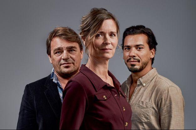 Thierry Godard, Caroline Proust et Tewfik Jallab.