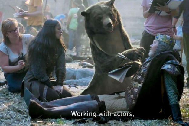 « L'ours », le film publicitaire le plus récompensé au monde, créé par l'agence de Canal+, BETC.