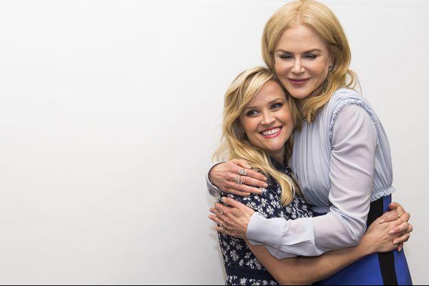 Reese Witherspoon et Nicole Kidman en février dernier à Beverly Hills.