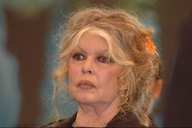 Brigitte Bardot en 2011 à Paris.