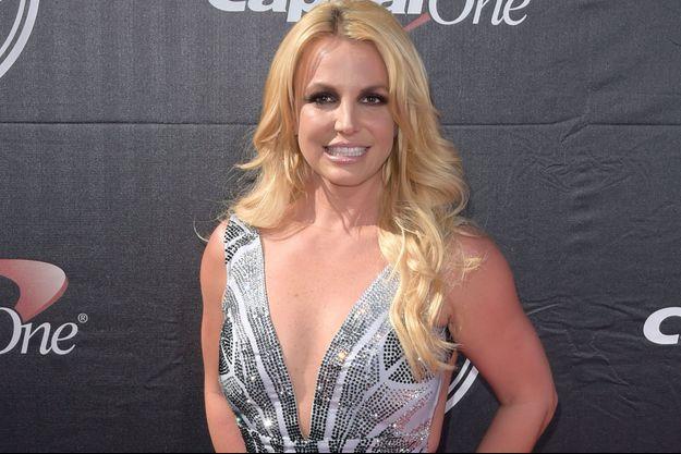 Britney Spears le 15 juillet dernier.