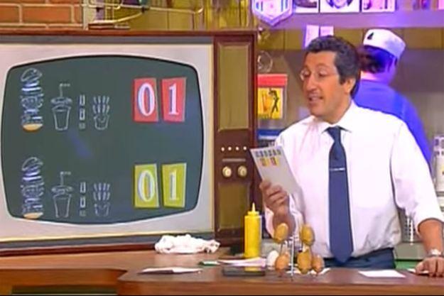 "Alain Chabat dans ""Burger Quiz""."