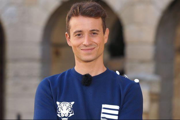 """Hugo Clément lors de sa participation à """"Fort Boyard"""" 2020."""