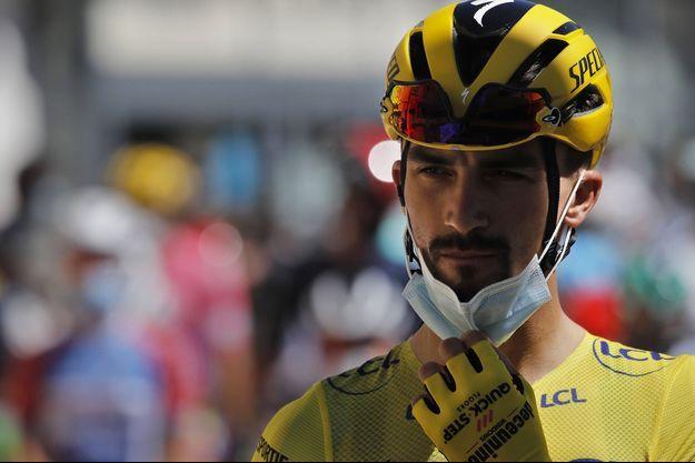 Julian Alaphilippe lors du Tour de France 2020.