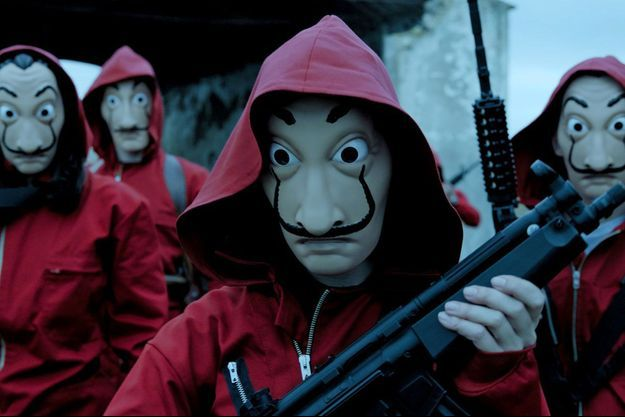 """Les deux saisons de """"Casa de Papel"""" sont disponibles sur Netflix."""