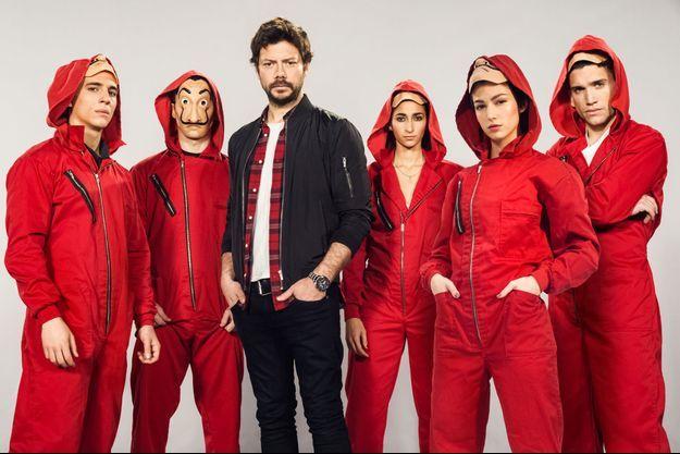"""La bande de """"Casa de papel"""" revient pour une saison 3 en 2019."""