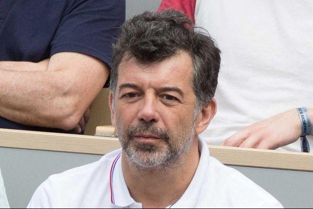 Stéphane Plaza en juin 2019 à Roland-Garros.