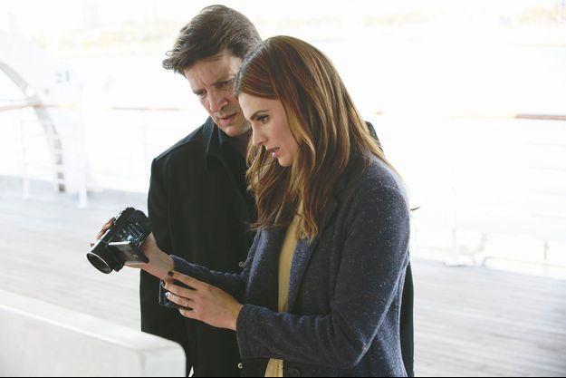 Richard Castle (Nathan Fillion) et Kate Beckett (Stana Katic).