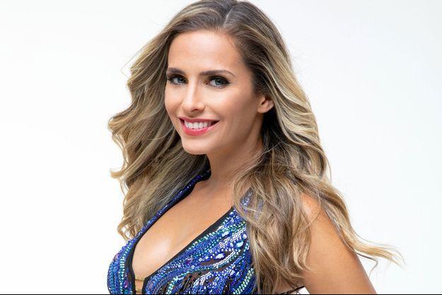 """Clara Morgane participe à """"Danse avec les stars"""" avec Maxime Dereymez."""