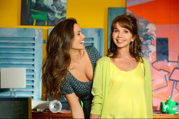 Lucie Lucas et Victoria Abril.