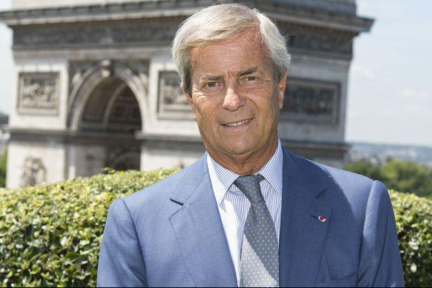 Vincent Bolloré à Paris le 26 juin 2017.