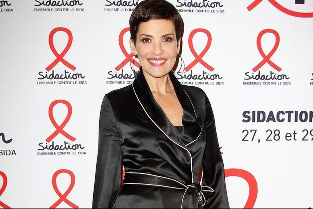 Cristina Cordula à la soirée du Sidaction le 2 mars dernier.