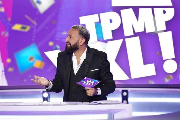"""Cyril Hanouna sur le plateau de """"TPMP""""."""