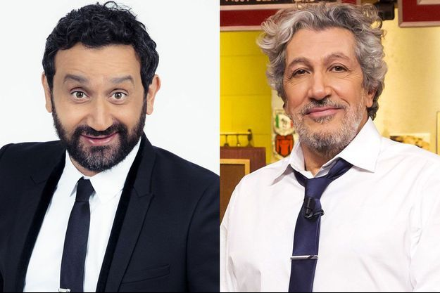 Cyril Hanouna et Alain Chabat (image d'illustration).