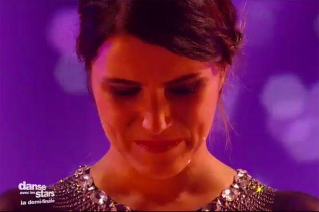 Karine Ferri fond en larmes avant sa dernière valse.