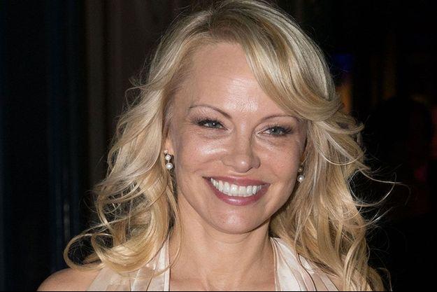 Pamela Anderson en 2018.