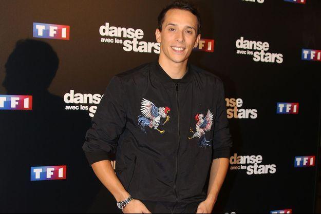 """Grégoire Lyonnet à la présentation de la saison 7 de """"Danse avec les stars"""" en septembre dernier."""