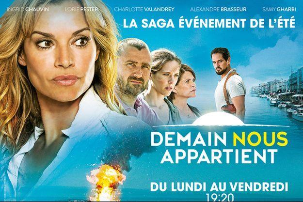 """""""Demain nous appartient"""" débute lundi 17 juillet sur TF1."""
