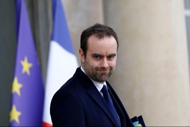 Le ministre des Outre-mer Sébastien Lecornu à l'Elysée, en janvier 2020.