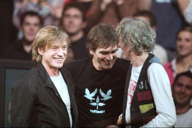 Taratata a réuni Louis Bertignac, Jean-Louis Aubert et Richard Kolinka en 2006.